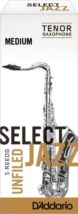 Caña Saxo Tenor D'addario Select Jazz Unfiled Medium 3