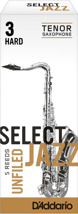 Caña Saxo Tenor D'addario Select Jazz Unfiled Hard 3