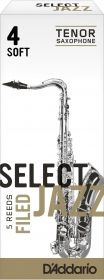 Caña Saxo Tenor D'addario Select Jazz Filed Soft 4
