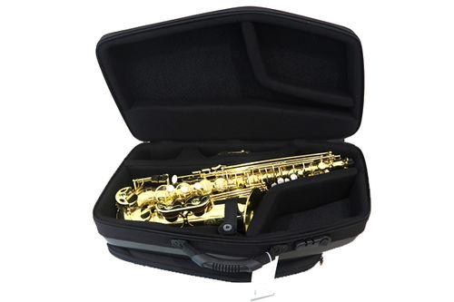 Estuche Saxo Alto Bags Evolution EV3 Metalic Gold interior