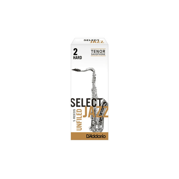 Caña Saxo Tenor D'addario Select Jazz Unfiled Hard 2
